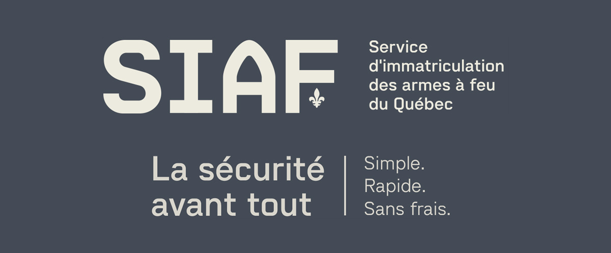 Particulier Siaf Service D Immatriculation Des Armes A Feu Du Quebec